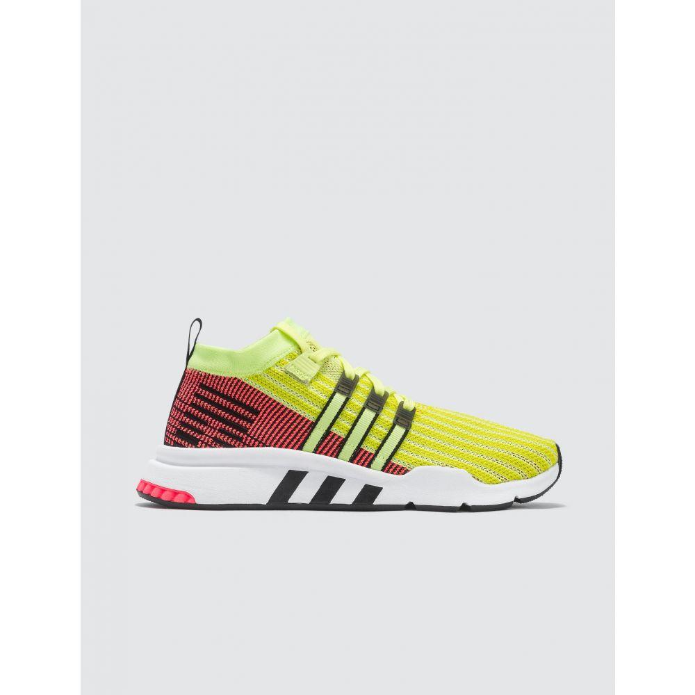 アディダス Adidas Originals メンズ スニーカー シューズ・靴【EQT Support Mid Adv Primeknit】Glow/core Black/turbo