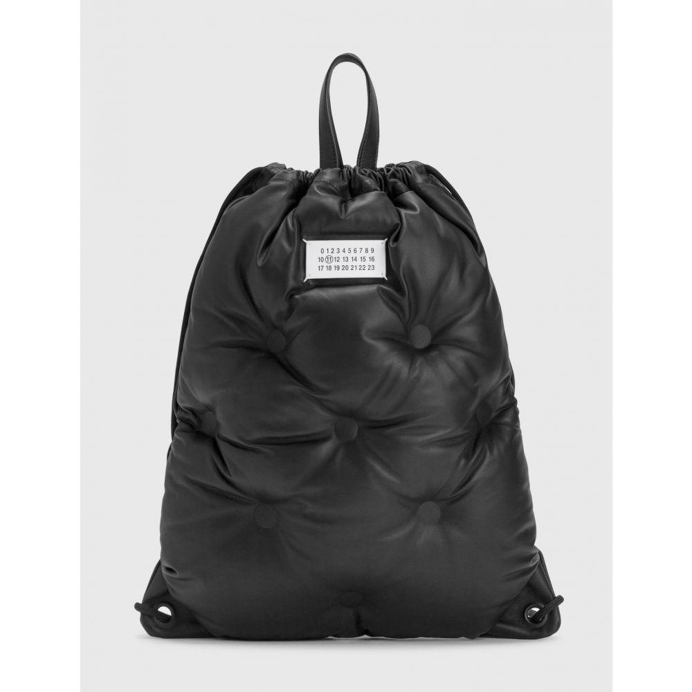 完売 メゾン マルジェラ Maison メゾン Margiela メンズ メンズ バックパック・リュック slam バッグ【glam slam drawstring backpack】Black, 硝子工房ヴァレーホース:917db417 --- eamgalib.ru