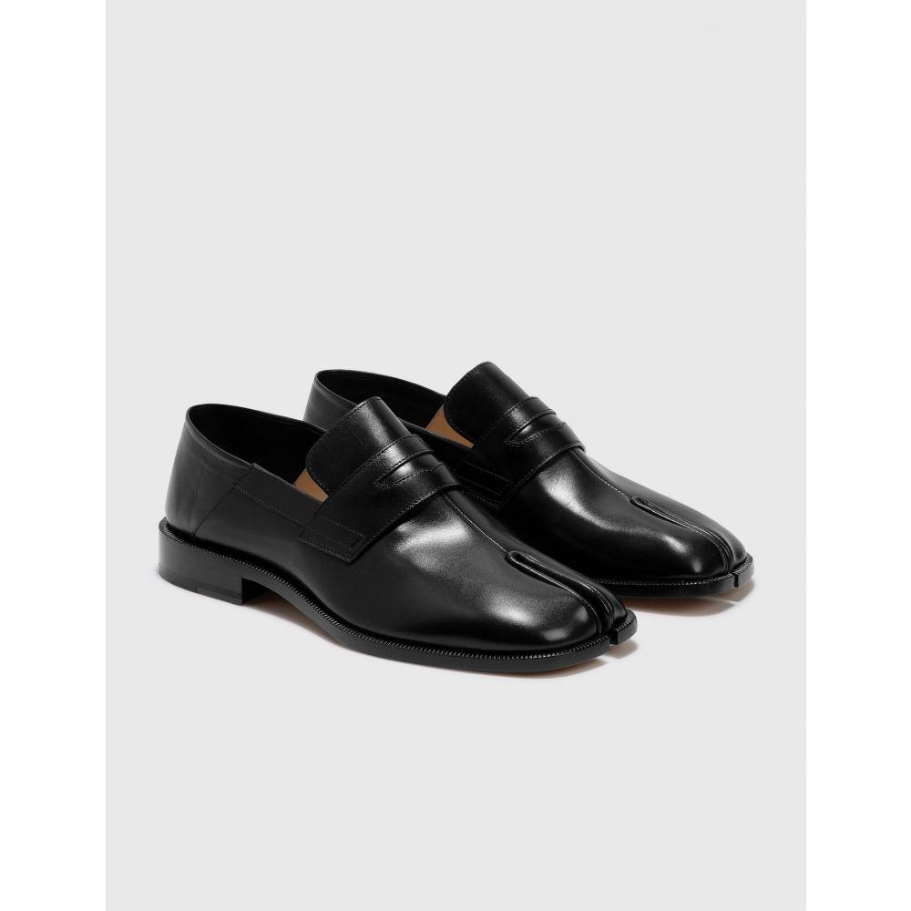 【数量は多】 メゾン ローファー loafers】Black マルジェラ Maison Margiela メンズ ローファー シューズ・靴【tabi Margiela loafers】Black, ハート Online Shop:6d51c880 --- unlimitedrobuxgenerator.com