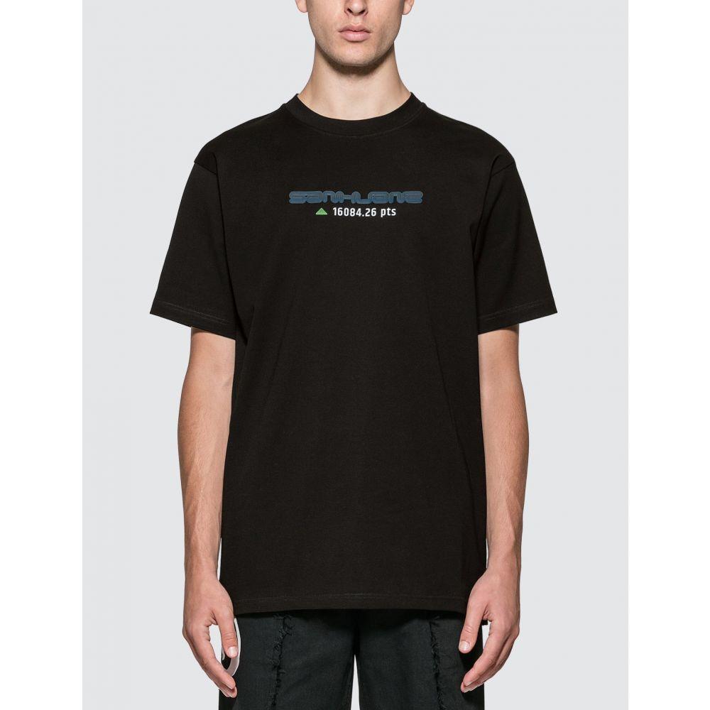 サンクアンズ Sankuanz メンズ Tシャツ トップス【Logo T-shirt】Black