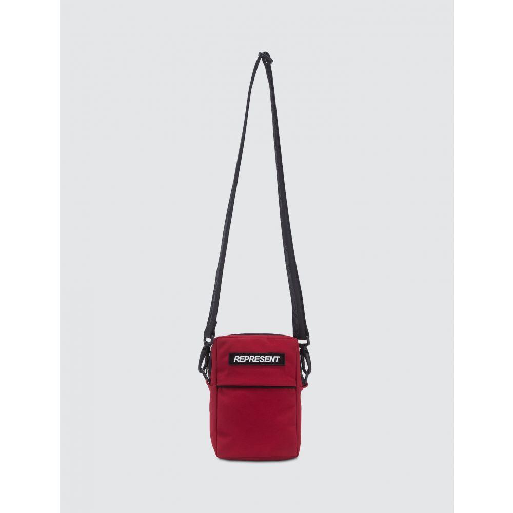 リプレゼント Represent メンズ ショルダーバッグ サッチェルバッグ バッグ【Mini Satchel】Red