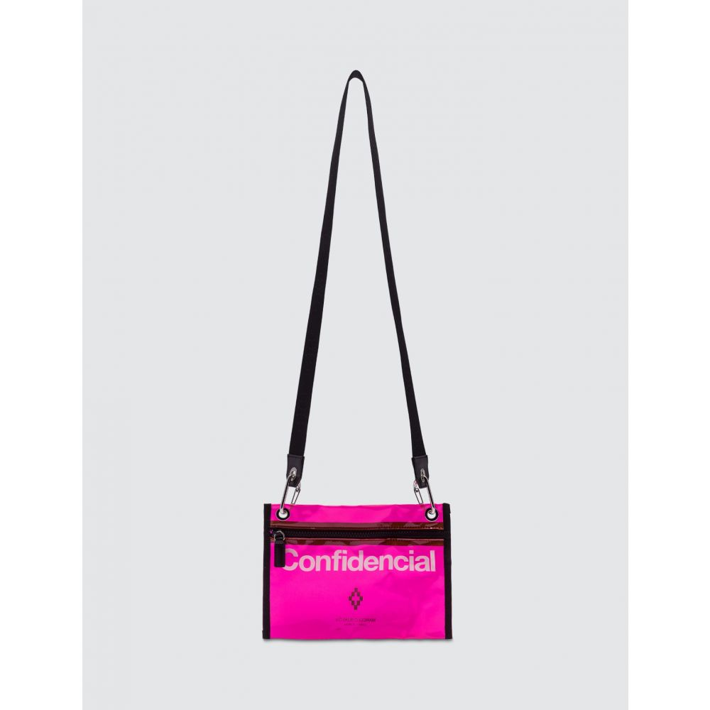 マルセロバーロン Marcelo Burlon メンズ ショルダーバッグ バッグ【Confidencial Crossbody Bag】Fuchsia