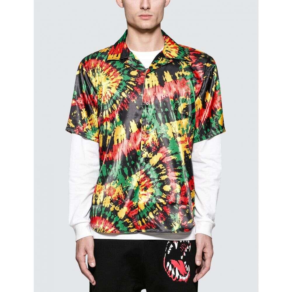 トリプルエス ワールド コープ SSS World Corp メンズ 半袖シャツ アロハシャツ トップス【Hawaiian S/S Shirt】Black/Multi