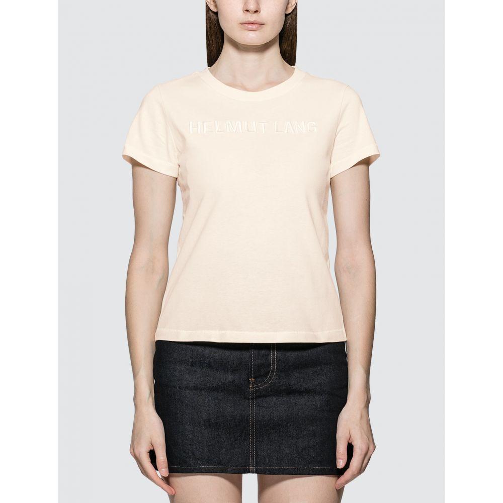 ヘルムート ラング Helmut Lang レディース Tシャツ トップス【Monogram Baby T-shirt】Cream