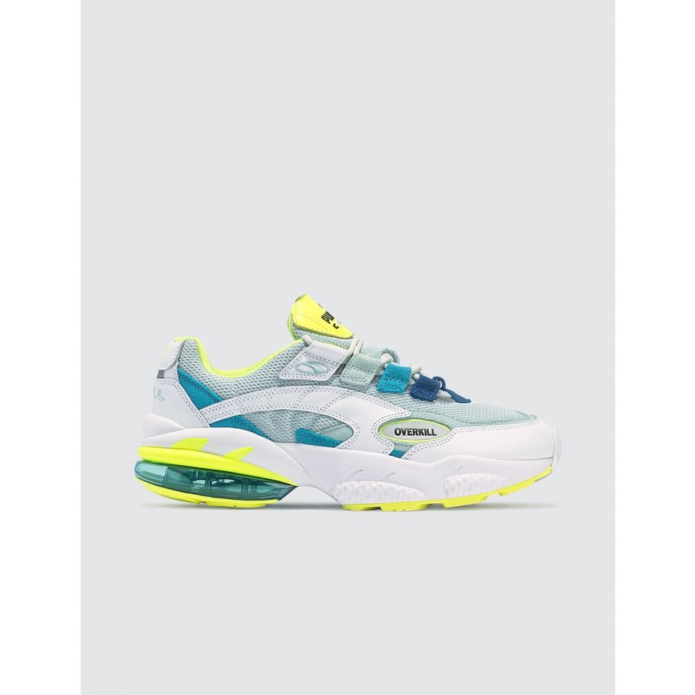 プーマ Puma メンズ スニーカー シューズ・靴【Overkill x Cell Venom】White/Blue/Neon Green