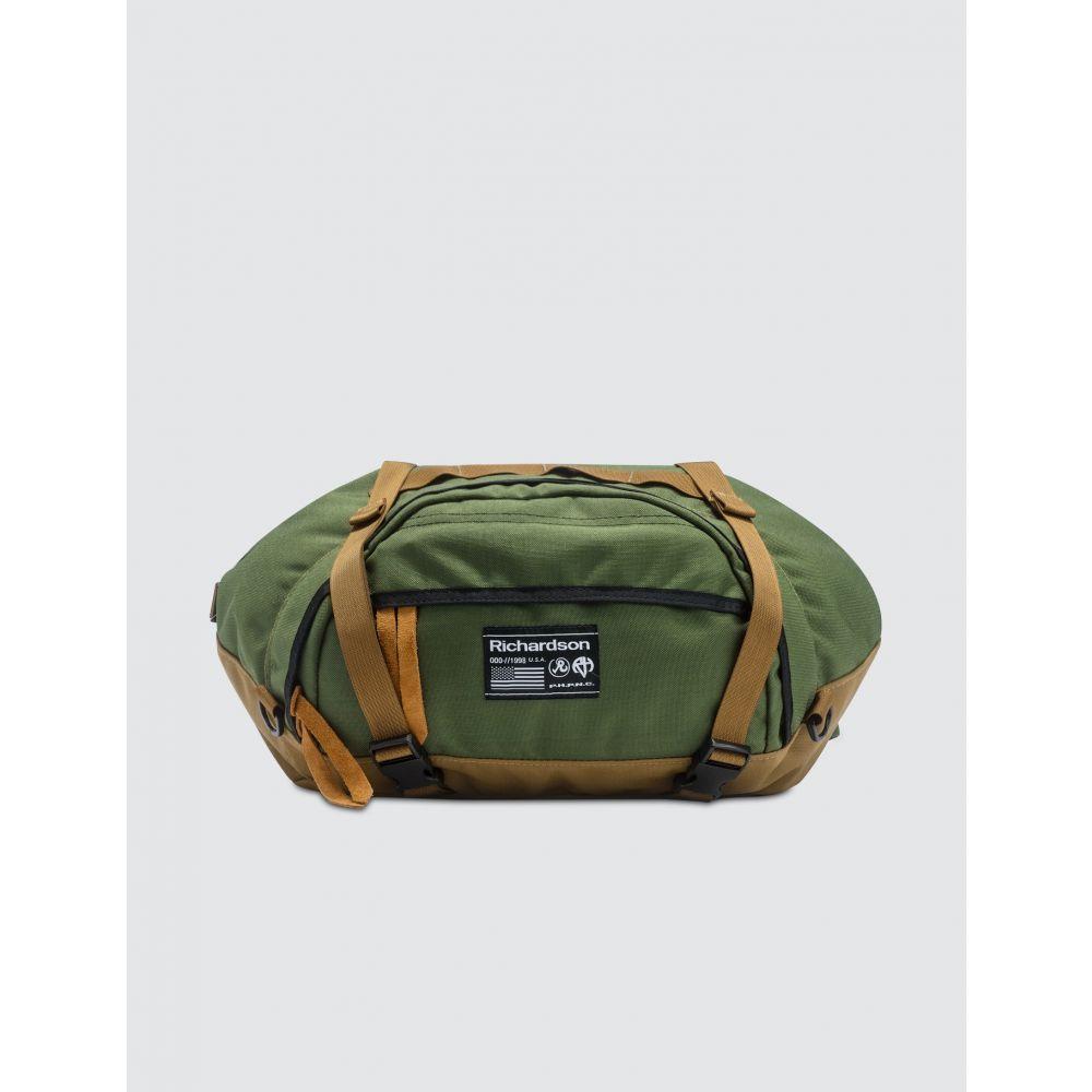 リチャードソン Richardson メンズ ボディバッグ・ウエストポーチ バッグ【Belt Bag】Khaki/Olive