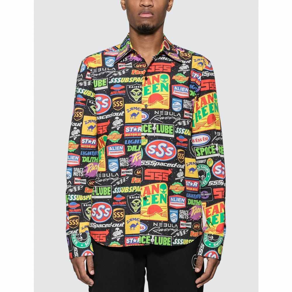 トリプルエス ワールド コープ SSS World Corp メンズ シャツ トップス【Sponsors Shirt】Multicolor