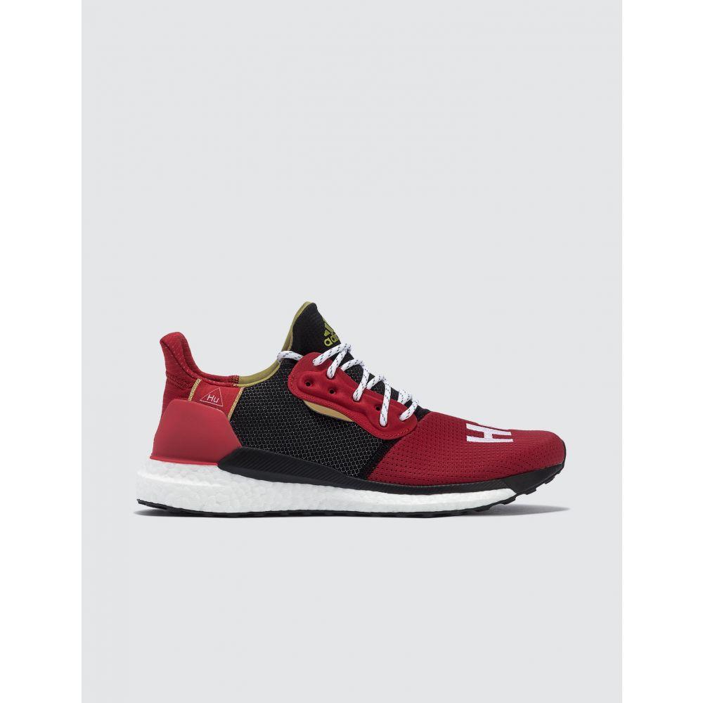 アディダス Adidas Originals メンズ スニーカー シューズ・靴【Pharrell X Adidas CNY Solar Hu】Scarlet/white/black/met Gold