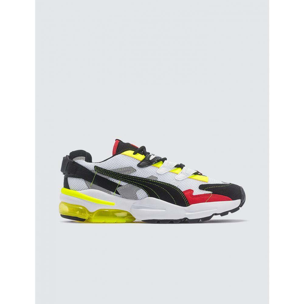 プーマ Puma レディース スニーカー シューズ・靴【Ader Error X Cell Alien Sneakers】White/Neon Yellow/Black