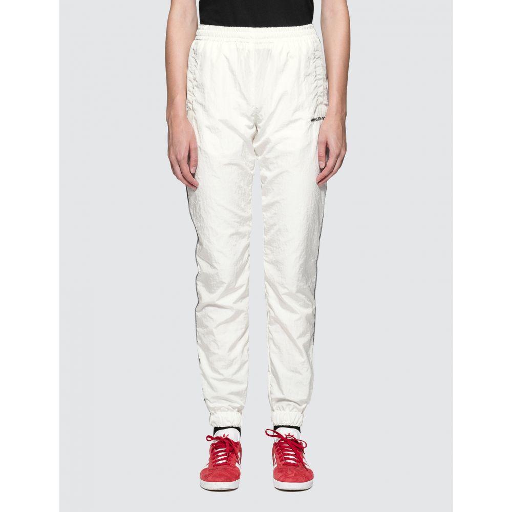ミスビヘイブ Misbhv レディース スウェット・ジャージ ボトムス・パンツ【Logo Trackpants】White