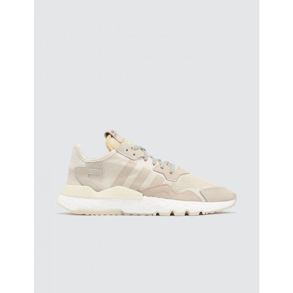 アディダス Adidas Originals メンズ スニーカー シューズ・靴【Nite Jogger】Chalk White