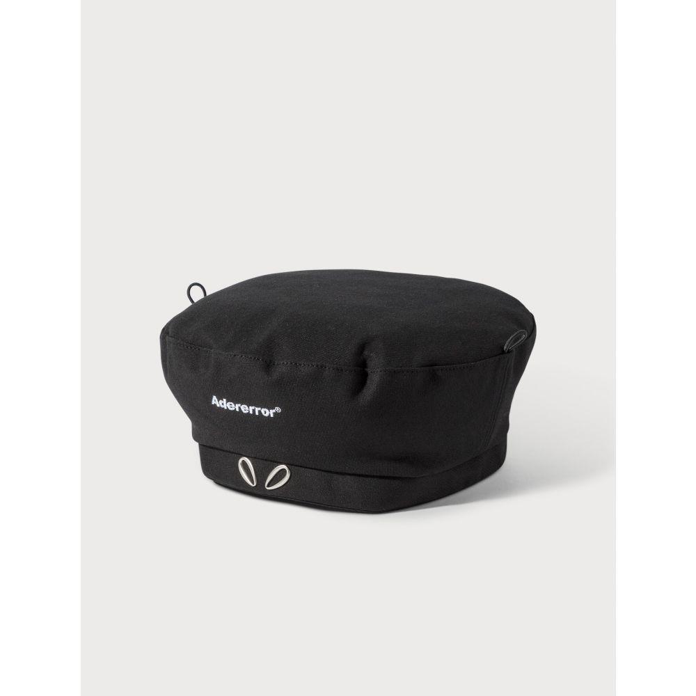 アーダーエラー Ader Error レディース 帽子 ベレー帽【Alien-shaped Beret】Black
