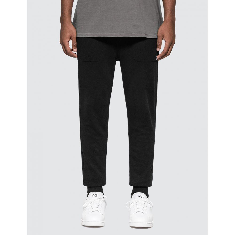 メゾン キツネ Maison Kitsune メンズ ジョガーパンツ ボトムス・パンツ【Tricolor Fox Patch Classic Jogger Pants】Black