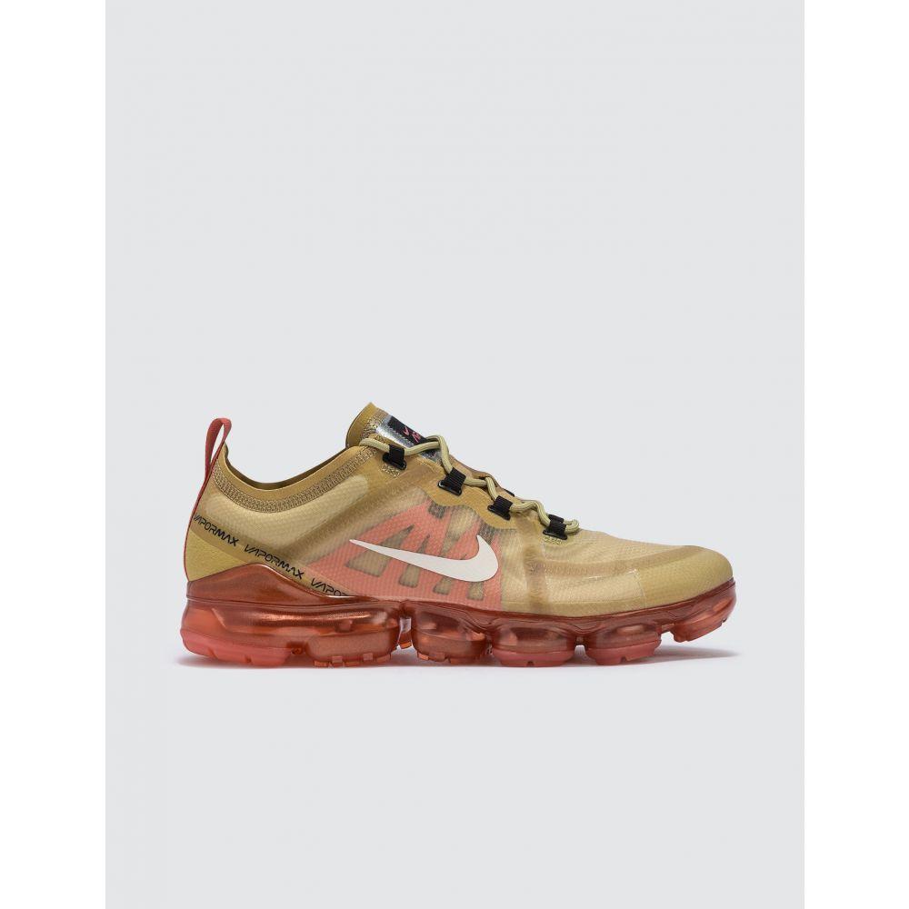 ナイキ Nike メンズ スニーカー シューズ・靴【Air Vapormax 2019】Club Gold/light Cream-ember Glow