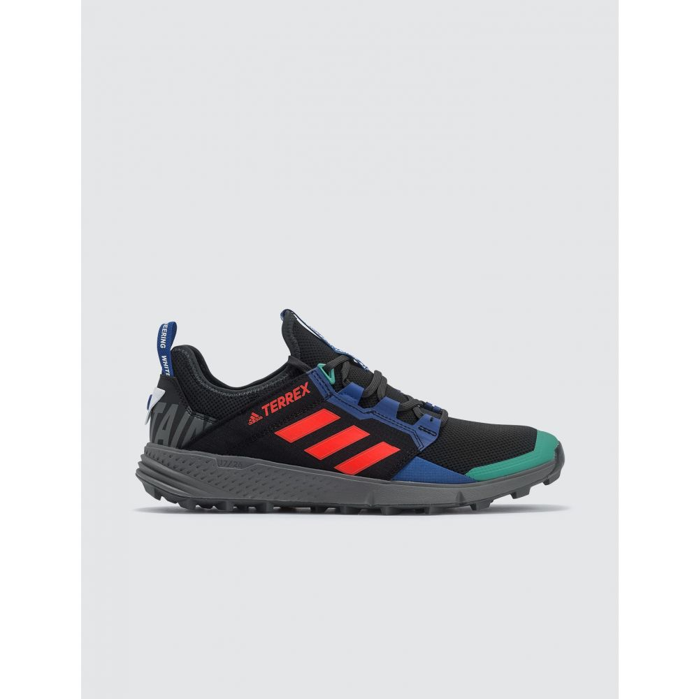 アディダス Adidas Originals メンズ スニーカー シューズ・靴【White Mountaineering x Adidas Terrex WM Agravic Speed LD Sneaker】Core Black, Active Orange S, Collegiate Royal