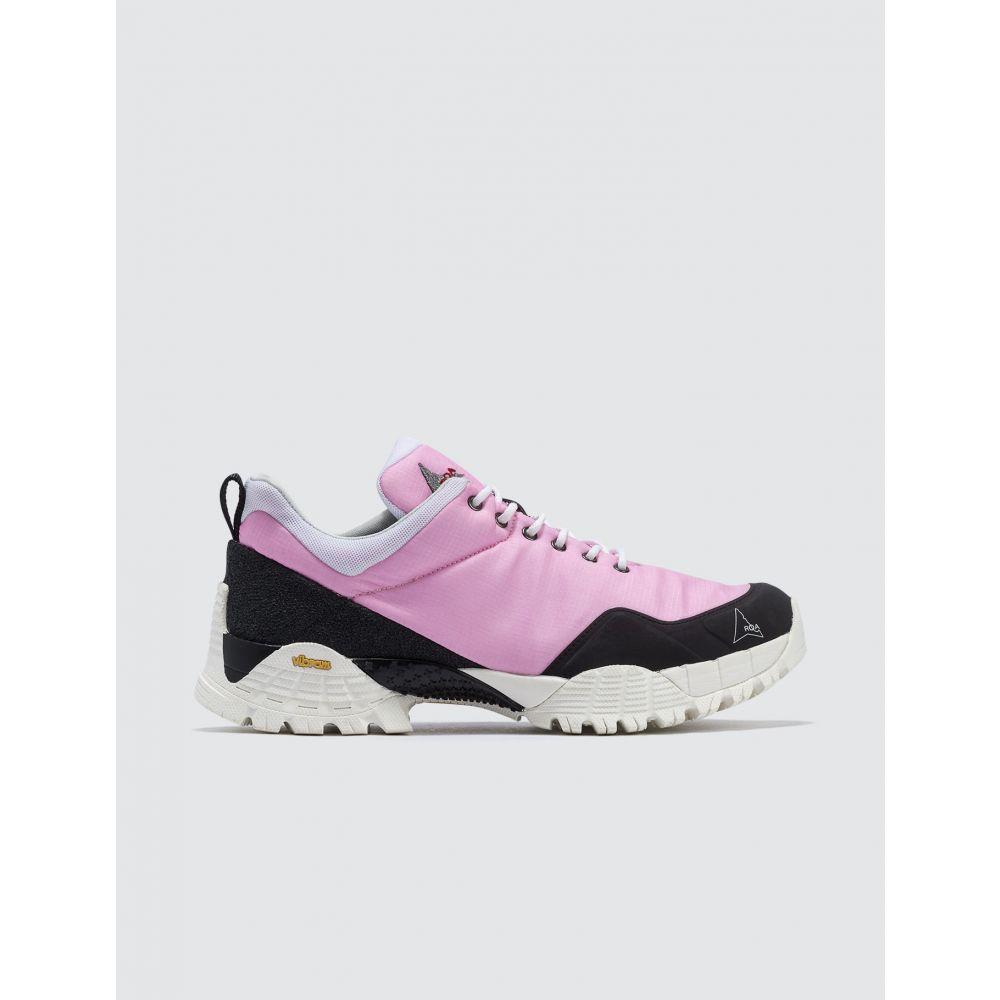 ロア ROA メンズ スニーカー シューズ・靴【Oblique Sneaker】Pink