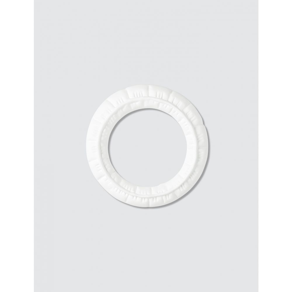 メゾン マルジェラ MM6 Maison Margiela レディース ブレスレット ジュエリー・アクセサリー【Puffer Bracelet】White