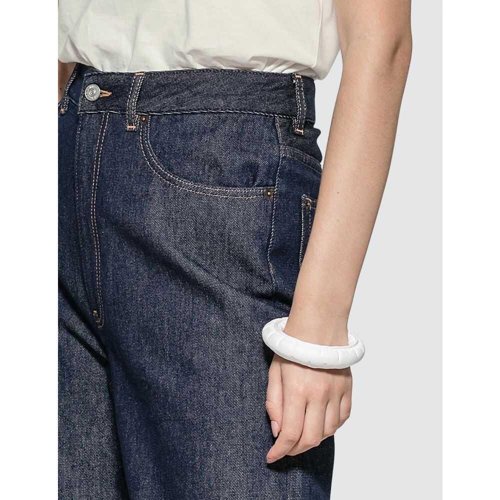 メゾン マルジェラ MM6 Maison Margiela レディース ブレスレット ジュエリー・アクセサリー Puffer Bracelet WhiteqMVUzSpG