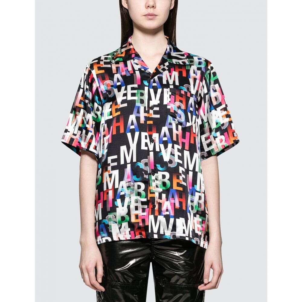 ミスビヘイブ Misbhv レディース ブラウス・シャツ トップス【Misbehave Short Sleeve Shirt】Multicolor Print