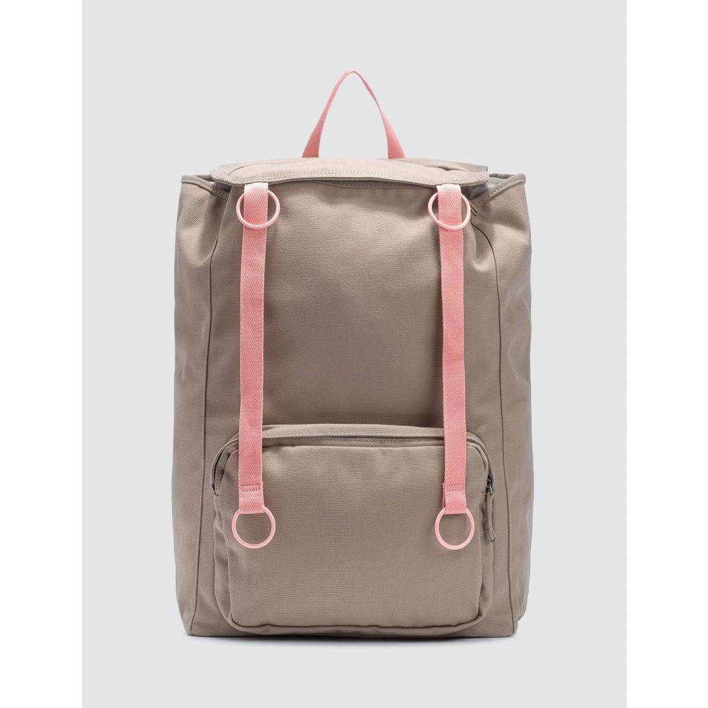 ラフ シモンズ Raf Simons メンズ バックパック・リュック バッグ【x Eastpak Topload Loop Backpack】Taupe/Pink