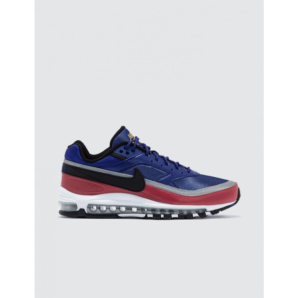 ナイキ Nike メンズ スニーカー シューズ・靴【Air Max 97/BW】Deep Royal Blue/black-university Red