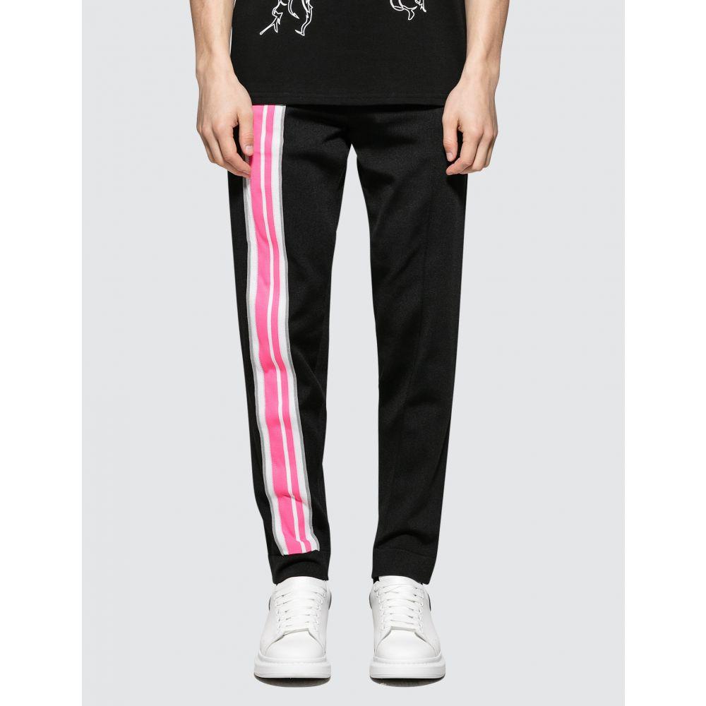 ジーシーディーエス GCDS メンズ スウェット・ジャージ ボトムス・パンツ【Logo Tracksuit Pants】Black