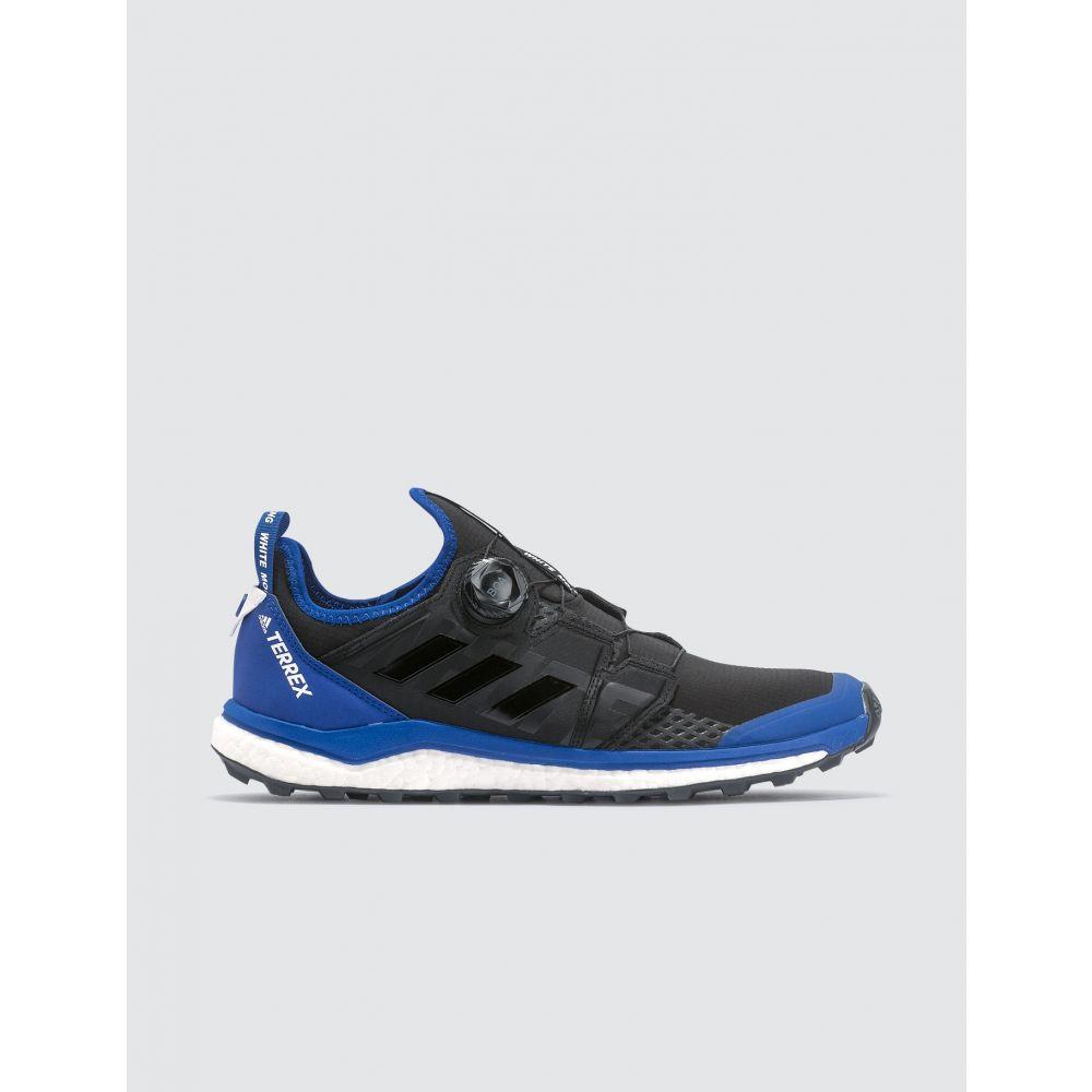 アディダス Adidas Originals メンズ スニーカー シューズ・靴【White Mountaineering x Adidas Terrex WM Agravic Boa Sneakers】Core Black, Core Black, Collegiate Royal