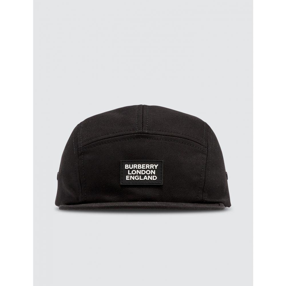 バーバリー Burberry メンズ キャップ 帽子【Silicone Logo Patch Cap】Black
