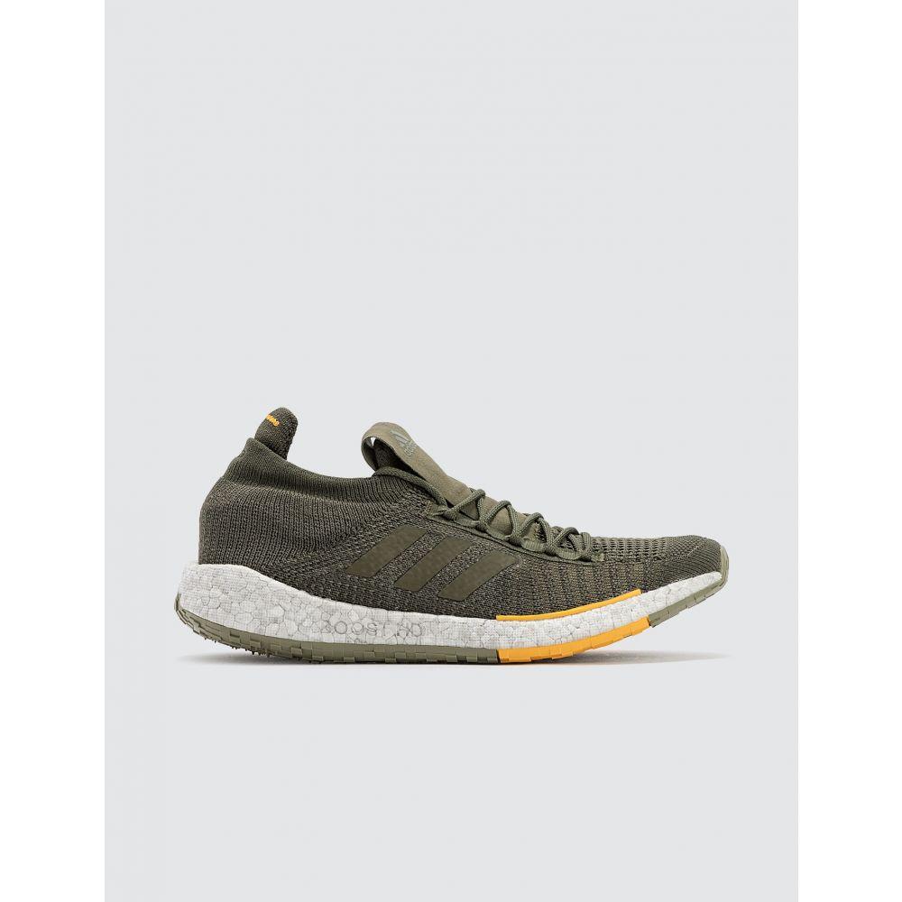 アディダス Adidas Originals メンズ スニーカー シューズ・靴【Adidas x Monocle Pulse Boost HD MC】Raw Khaki/Active Gold