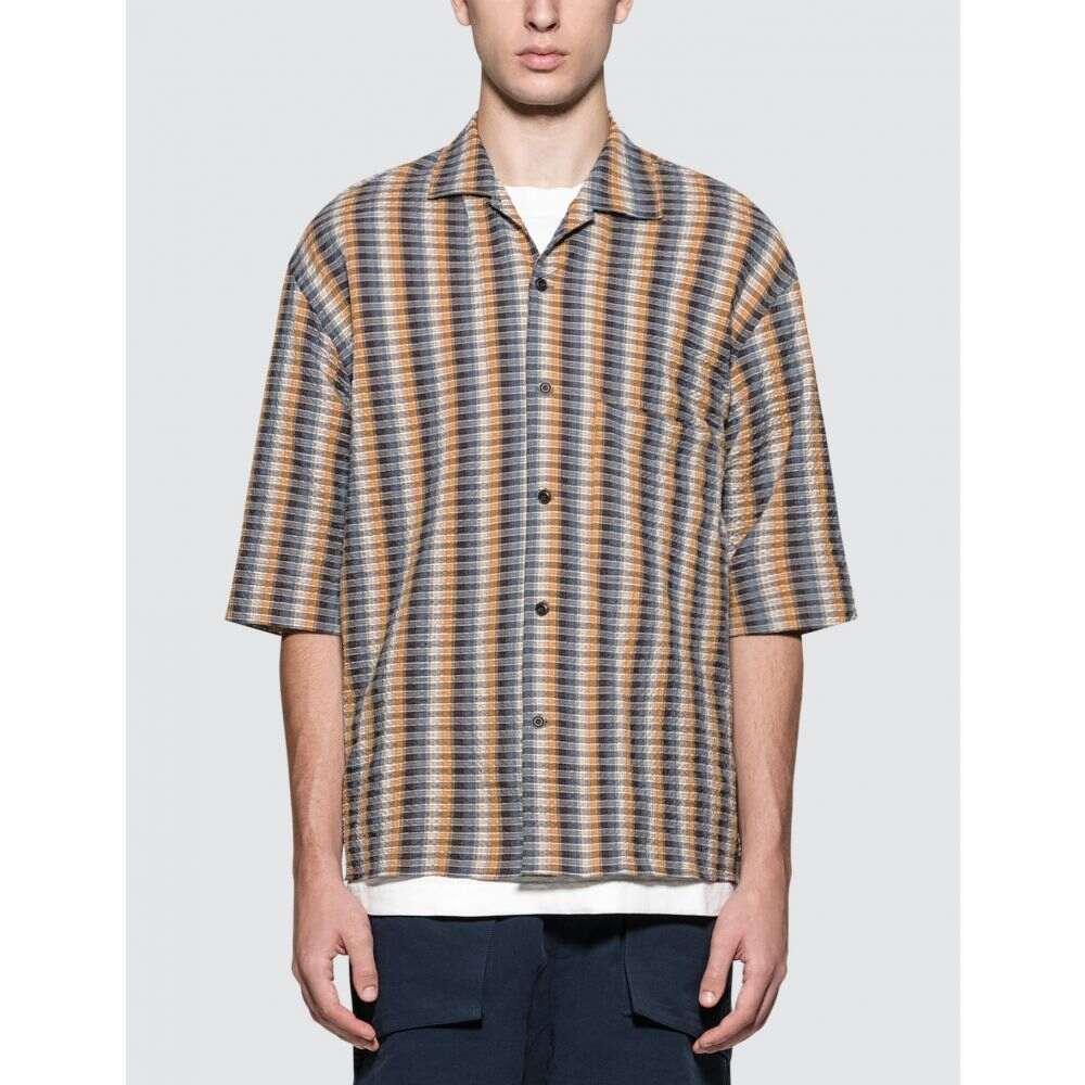 ルメール Lemaire メンズ シャツ トップス【Convertible Collar Shirt】Mustard