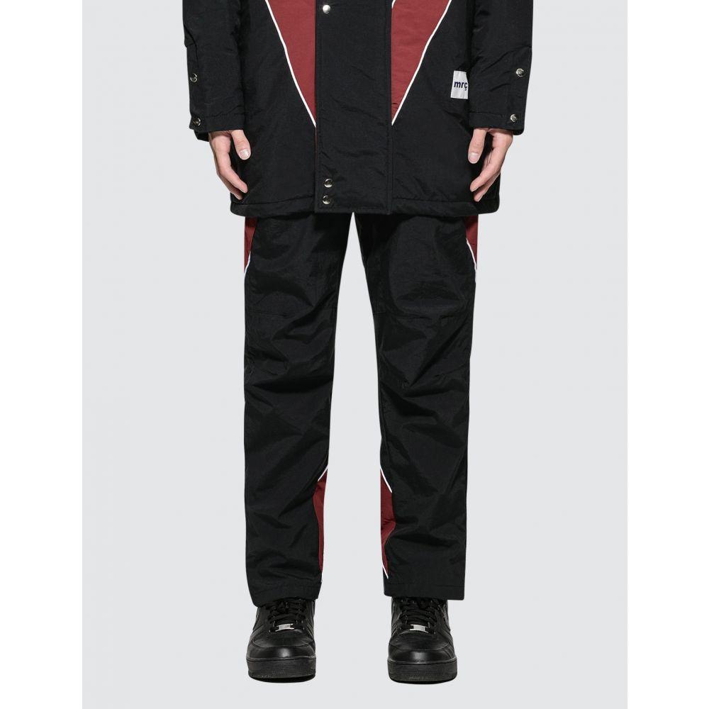 ミスターコンプリートリー Mr. Completely メンズ ボトムス・パンツ 【Stadium Pant】Black/red