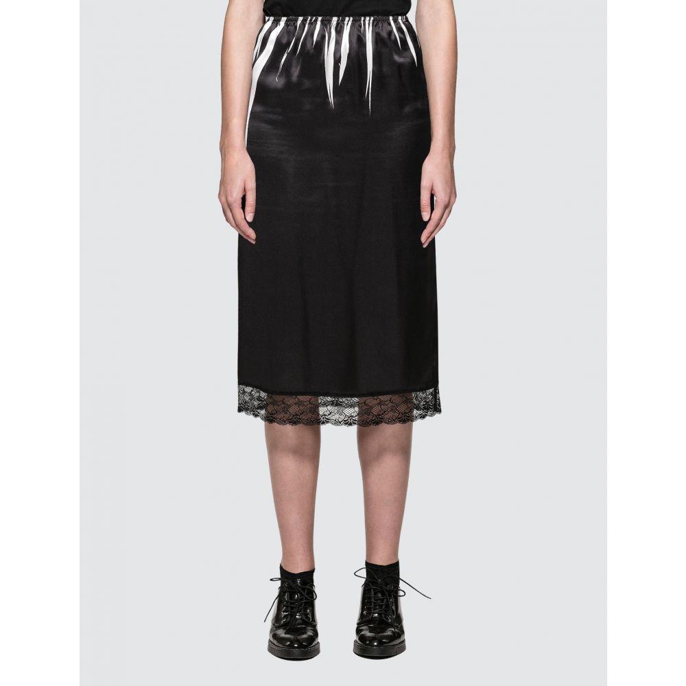 アレキサンダー マックイーン McQ Alexander McQueen レディース スカート スリップスカート【Slip Skirt】Black