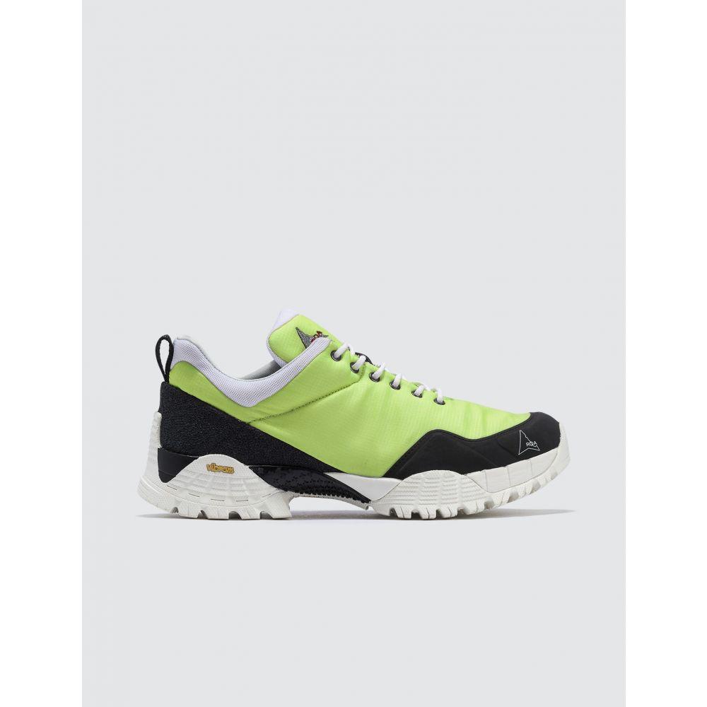 ロア ROA メンズ スニーカー シューズ・靴【Oblique Sneaker】Green