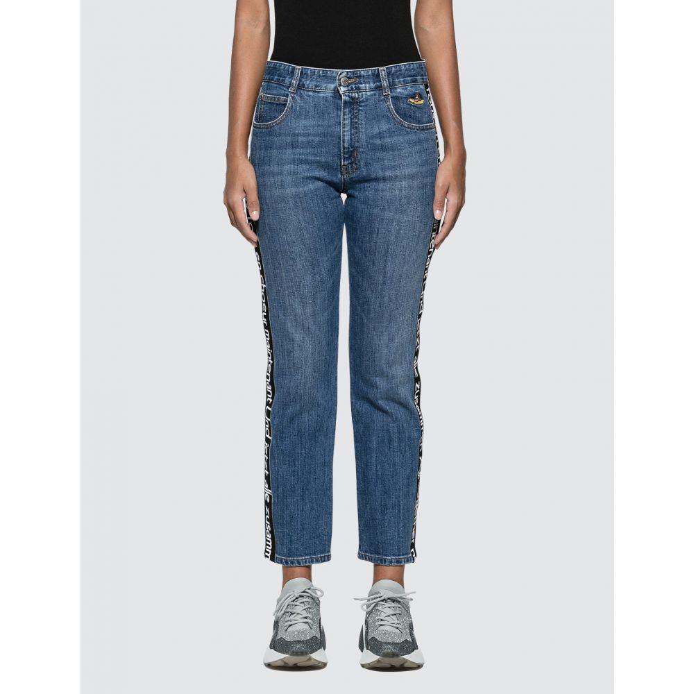 ステラ マッカートニー Stella McCartney レディース ジーンズ・デニム ボトムス・パンツ【Straight Leg Jeans】Blue