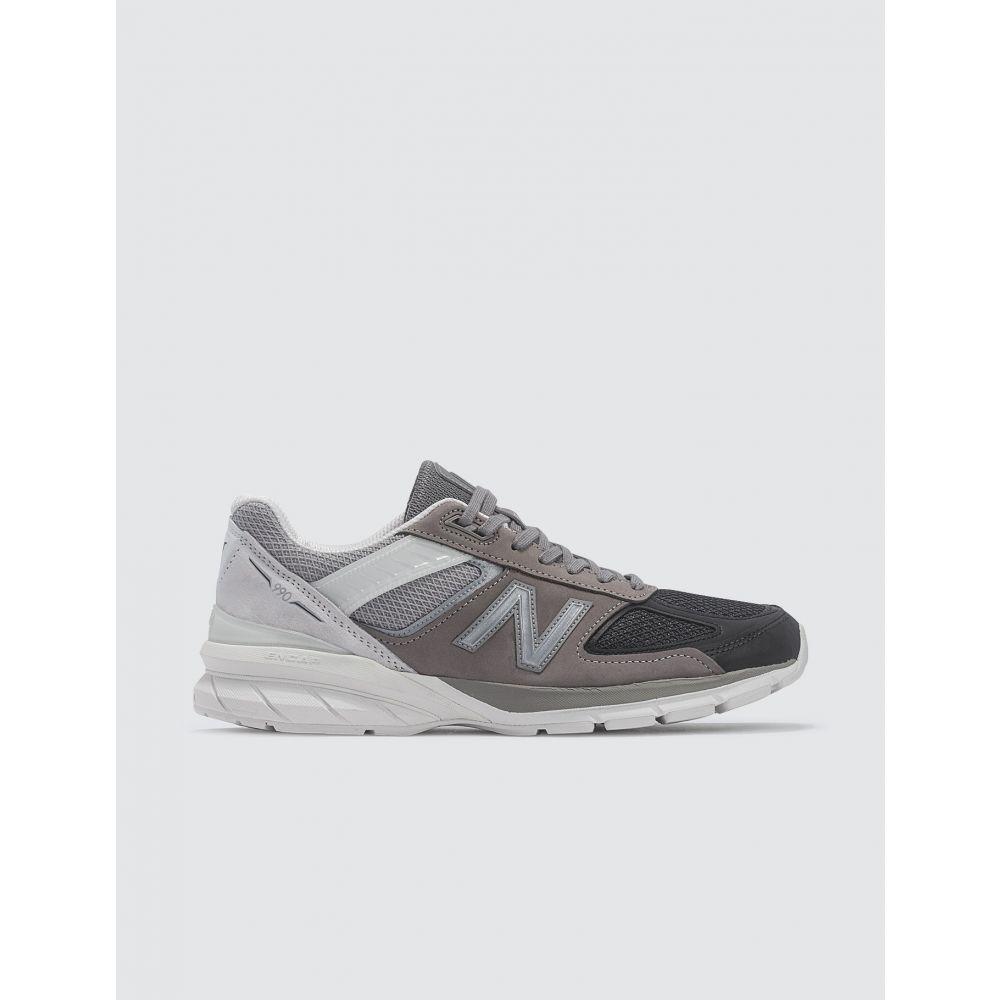 ニューバランス New Balance メンズ スニーカー シューズ・靴【Made In USA 990 V5】Grey