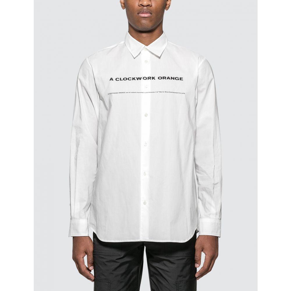 アンダーカバー Undercover メンズ シャツ トップス【A Clockwork Orange Shirt】White
