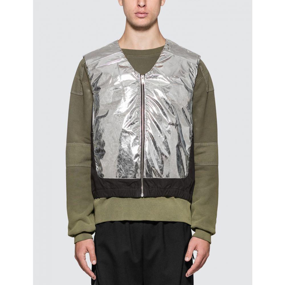 アンブッシュ Ambush メンズ ベスト・ジレ トップス【Padded Vest】Silver