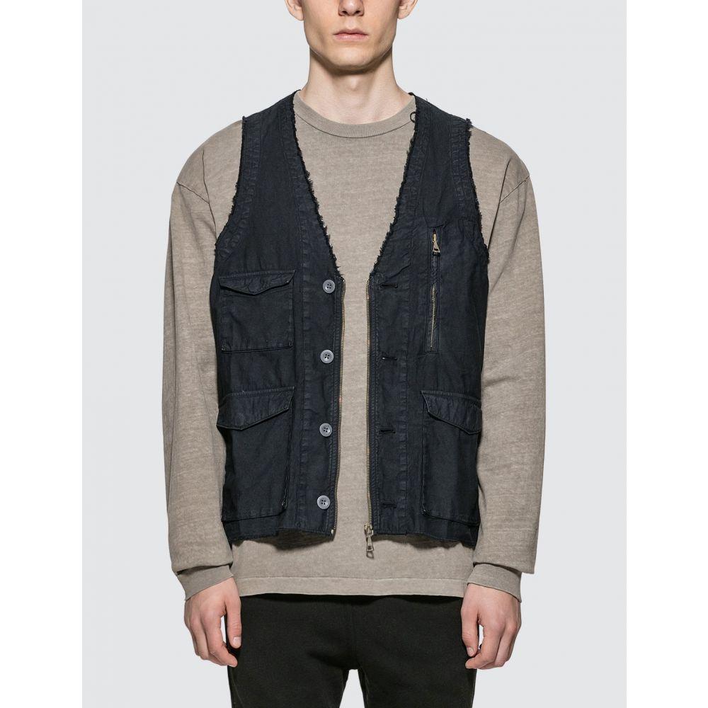 ジョン エリオット John Elliott メンズ ベスト・ジレ トップス【Inca Vest】Black