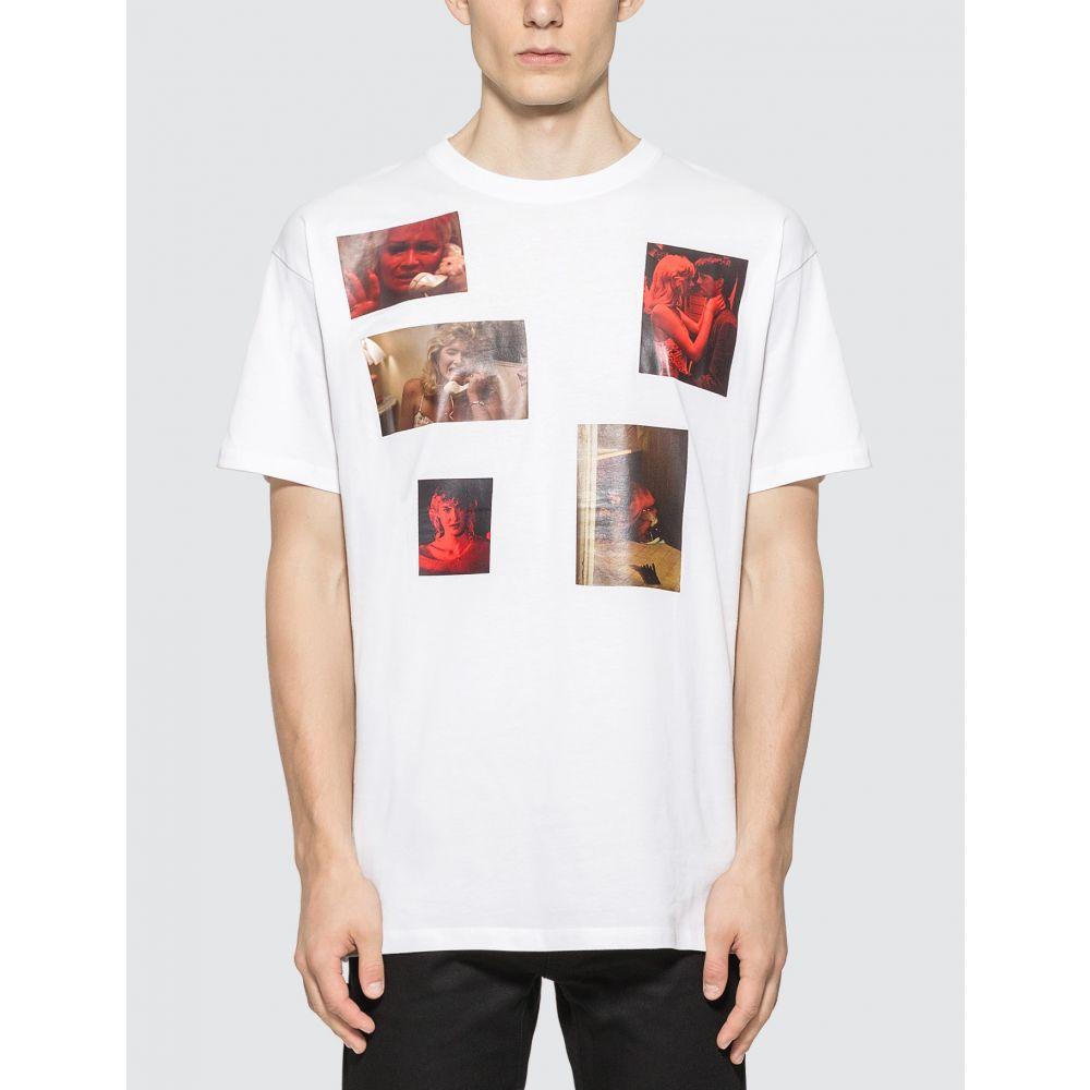 ラフ シモンズ Raf Simons メンズ Tシャツ トップス【Big Fit 6 Pictures T-shirt】White