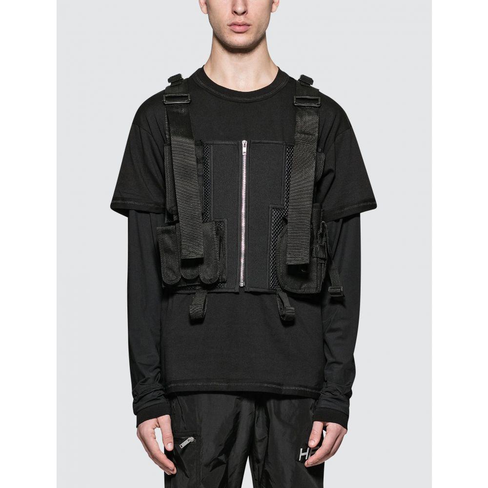 GEO メンズ ベスト・ジレ トップス【Tactical Vest】Black