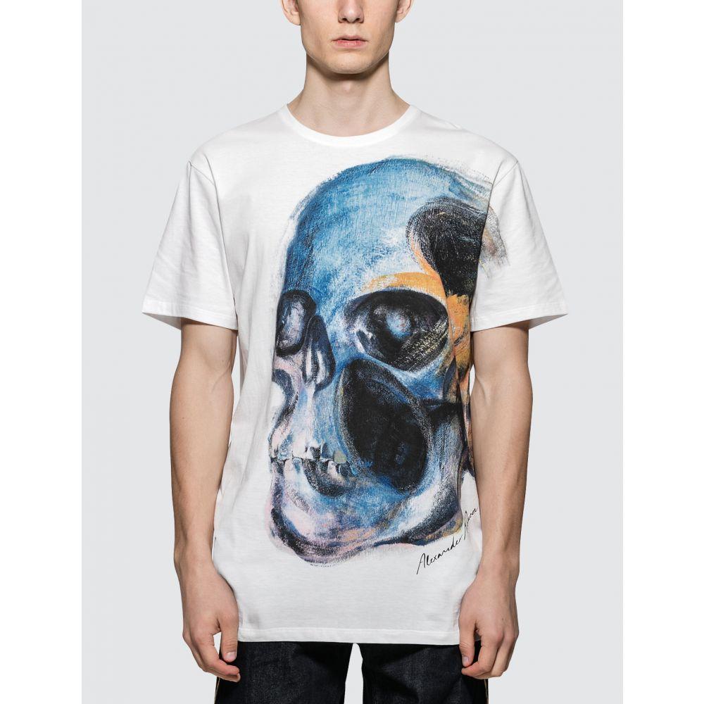 アレキサンダー マックイーン Alexander McQueen メンズ Tシャツ トップス【Skull S/S T-Shirt】White