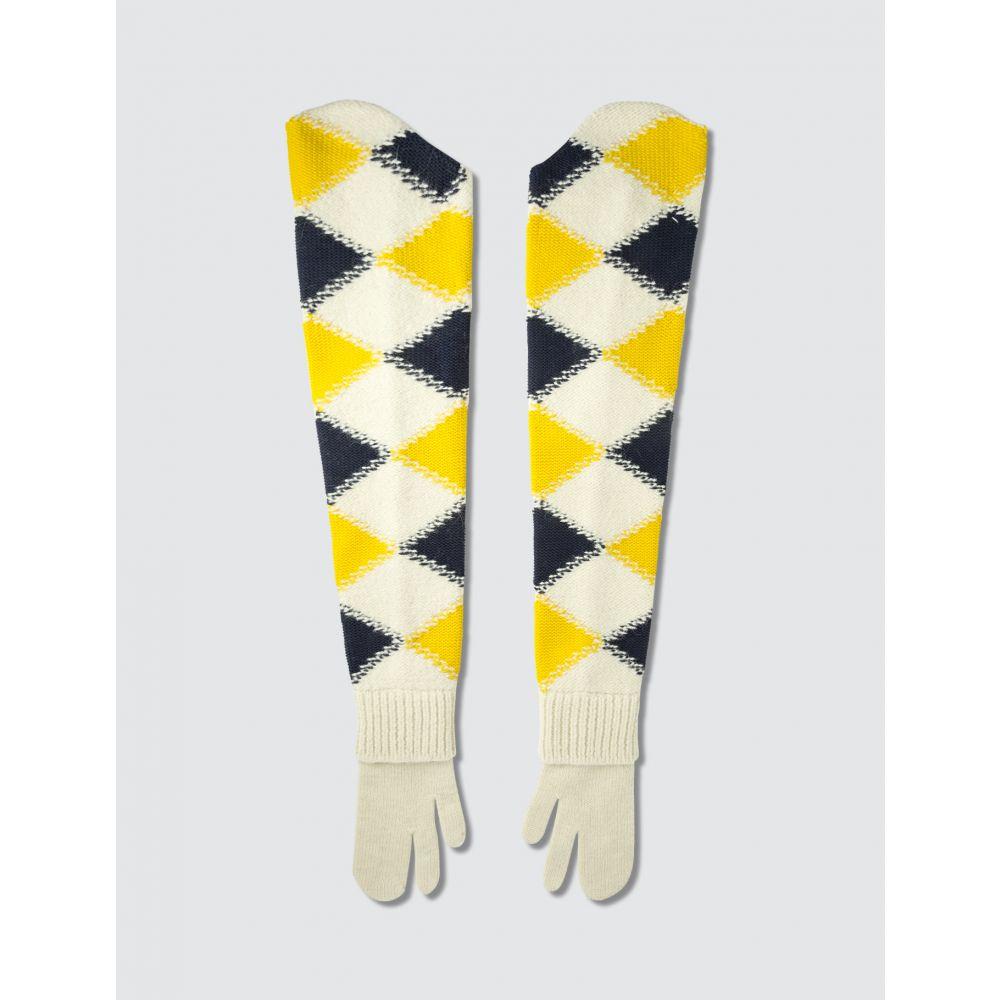 メゾン マルジェラ Maison Margiela レディース 手袋・グローブ 【Long Split Finger Gloves】Off White