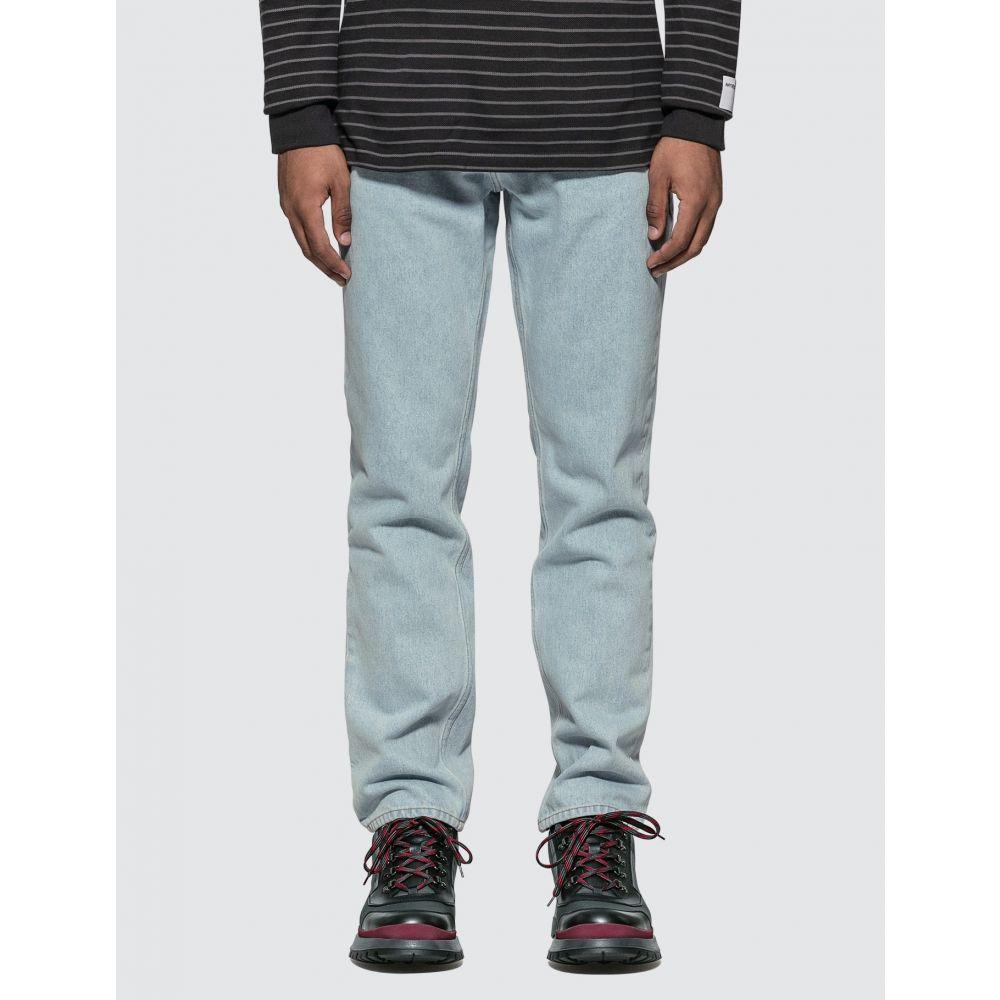 マーティン ローズ Martine Rose メンズ ジーンズ・デニム ボトムス・パンツ【Straight Leg Jeans】Light Blue