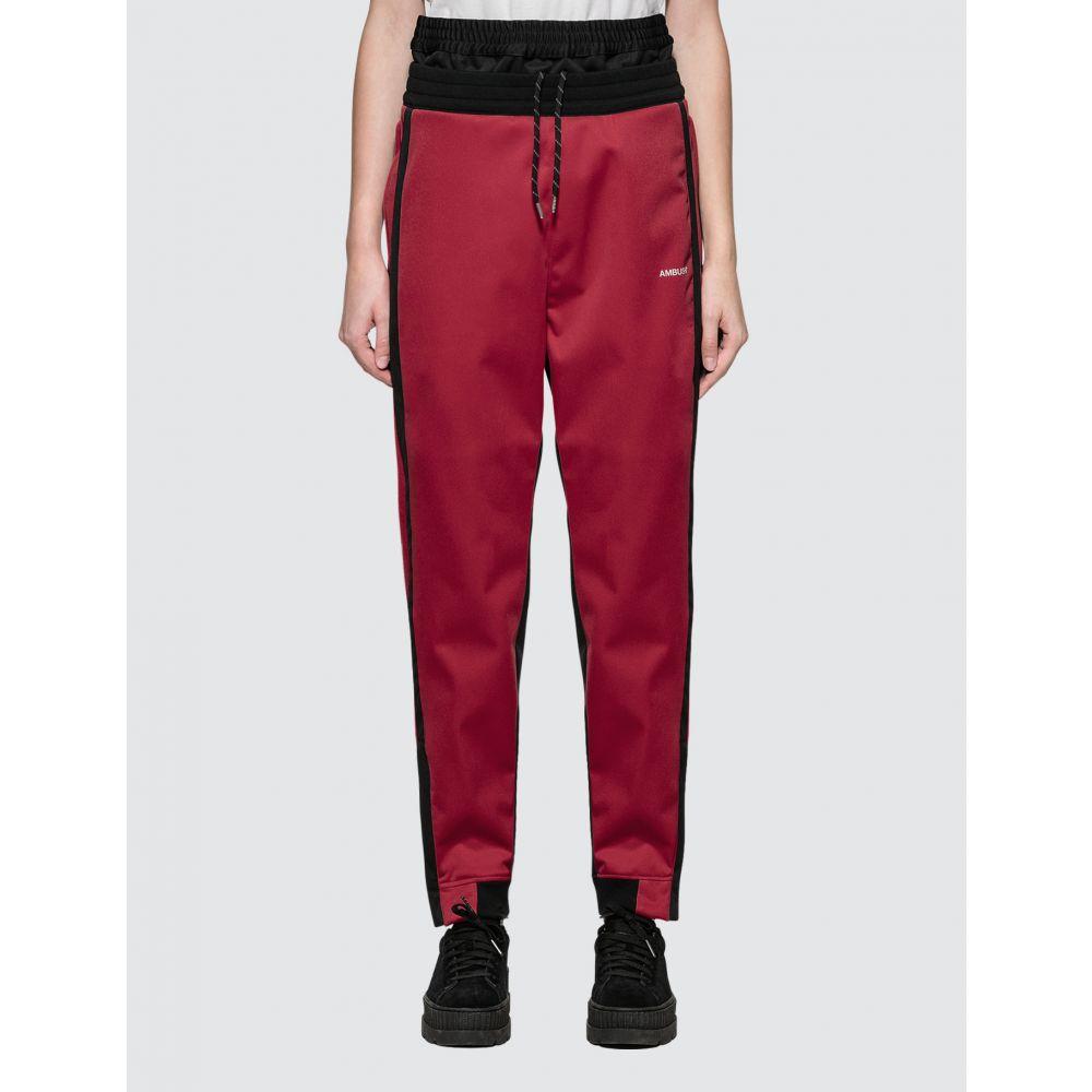 アンブッシュ Ambush レディース スウェット・ジャージ ボトムス・パンツ【Layered Track Pants】Red
