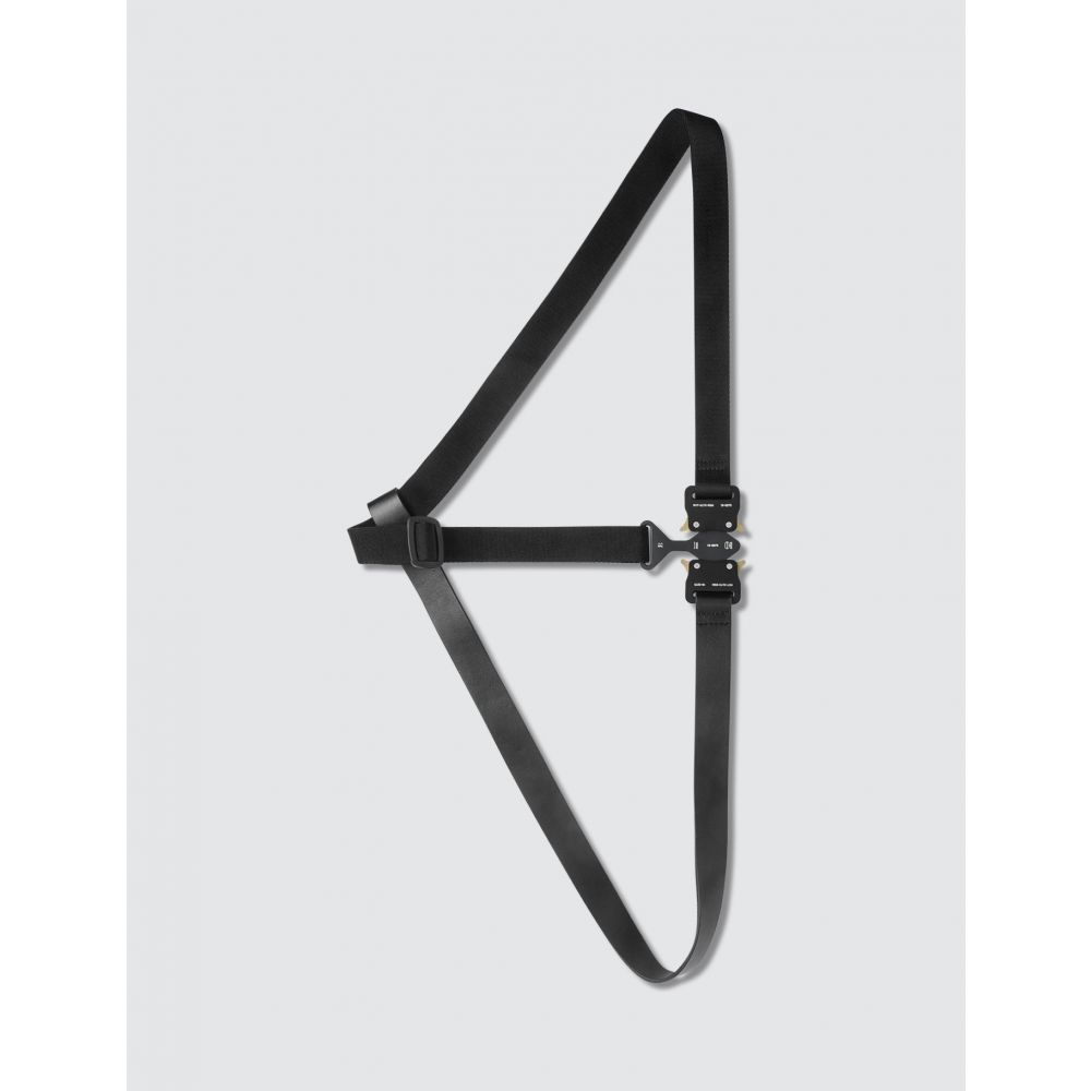 アリクス 1017 ALYX 9SM レディース ベルト 【Tri-buckle Chest Harness】Black