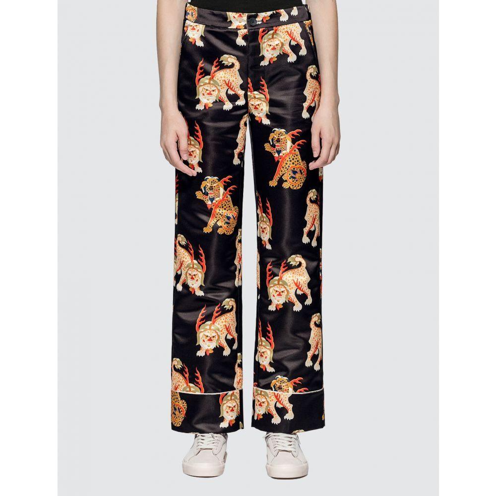 キリン Kirin レディース パジャマ・ボトムのみ インナー・下着【Haetae Duchesse Pajama Pants】Black/Multicolor