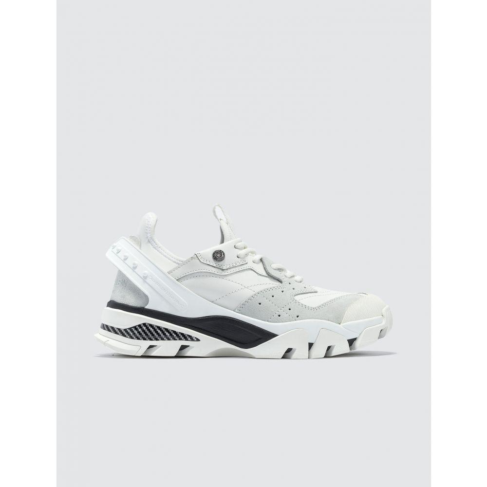 カルバンクライン Calvin Klein 205W39NYC レディース スニーカー シューズ・靴【Carla 10 Sneakers】White