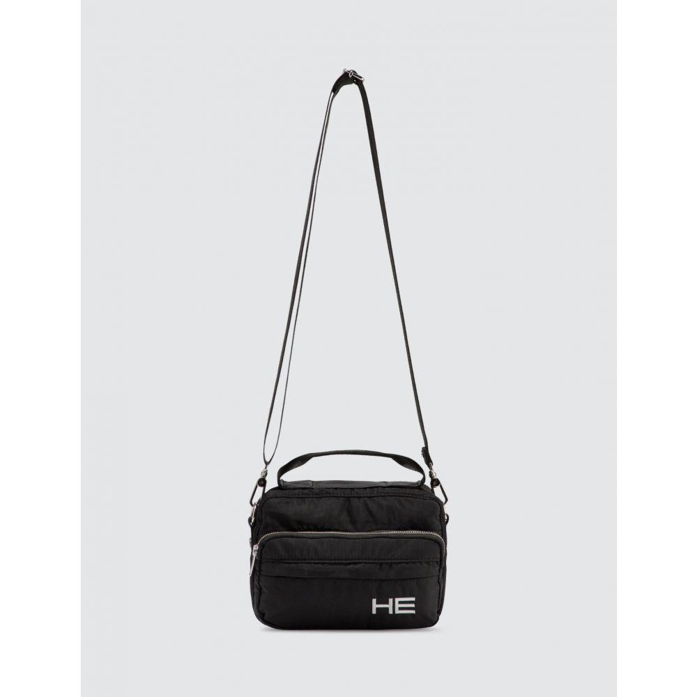 エリオットエミル Heliot Emil メンズ ショルダーバッグ カメラバッグ バッグ【Camera Bag】Black