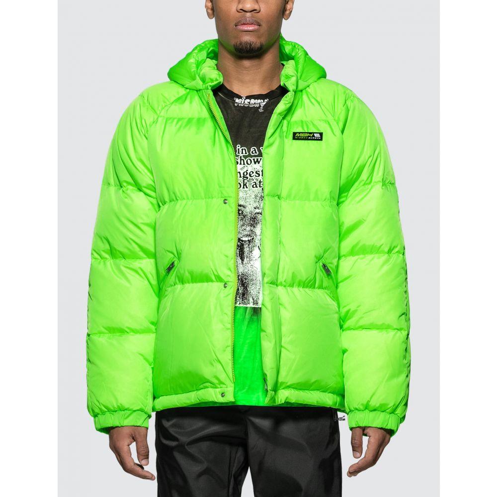 ミスビヘイブ Misbhv メンズ ダウン・中綿ジャケット アウター【Europa Down Jacket】Neon Green