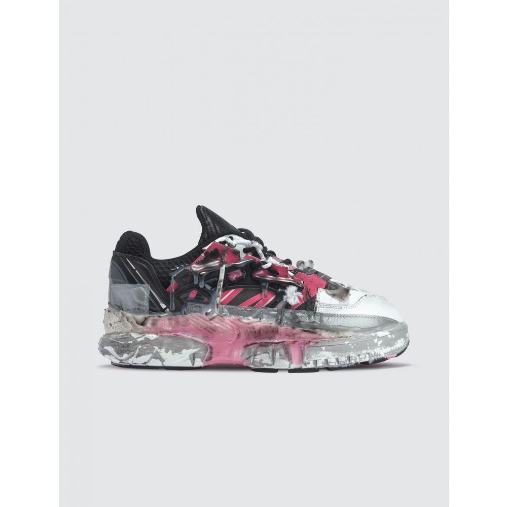 メゾン マルジェラ Maison Margiela レディース スニーカー シューズ・靴【Fusion Sneakers】Black/Pink Fluo